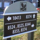 Post & Panel Sign